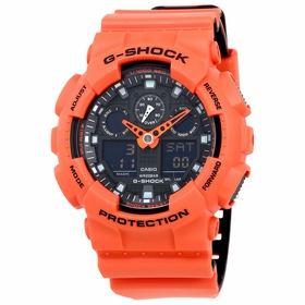 Casio GA100L-4A G-Shock Mens Quartz Watch