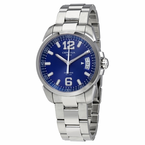 Certina DS Rookie Blue Dial Men's Steel Watch