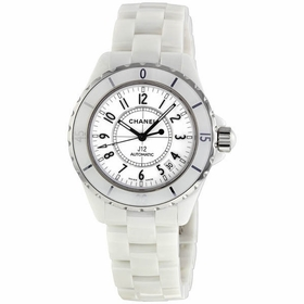 Chanel H0970 J12 White Unisex Automatic Watch