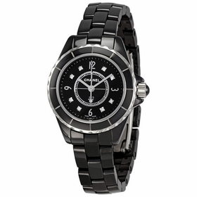 Chanel H2569 J12 Black Ladies Quartz Watch