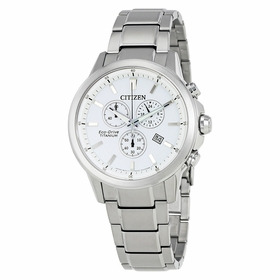 Citizen AT2340-56A TI+IP Mens Chronograph Quartz Watch