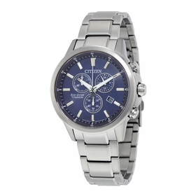 Citizen AT2340-56L TI+IP Mens Chronograph Eco-Drive Watch