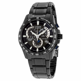 Citizen AT4007-54E Perpetual Chrono A-T Mens Chronograph Eco-Drive Watch