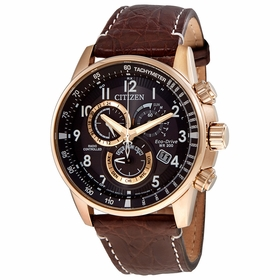 Citizen AT4133-09E PCAT Mens Chronograph Eco-Drive Watch