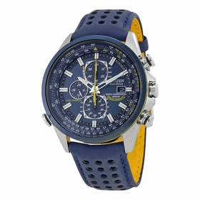 Citizen AT8020-03L Blue Angels World Mens Chronograph Eco-Drive Watch