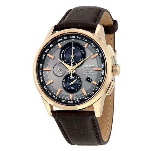 Citizen AT8113-04H Eco-Drive World Mens Chronograph Eco-Drive Watch