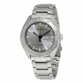 Citizen AW0060-54A Eco-Drive Titanium Mens Eco-Drive Watch