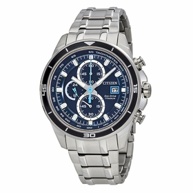 Citizen CA0349-51L TI+IP Mens Chronograph Eco-Drive Watch