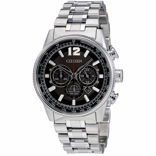 Citizen CA4370-52E Nighthawk Mens Chronograph Eco-Drive Watch