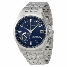 Citizen CC3020-57L Satellite Wave World Time GPS Mens Eco-Drive Watch