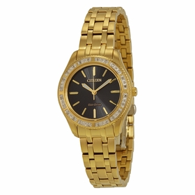 citizen eco drive mens ladies watches on timepiece com citizen em0242 51e carina ladies eco drive watch