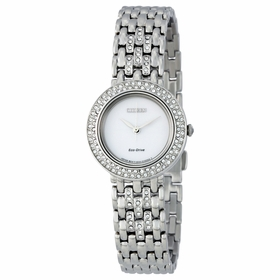Citizen EM0260-67A Silhouette Crystal Ladies Eco-Drive Watch