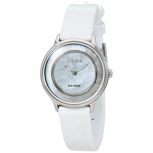 Citizen EM0381-03D Circle of Time Ladies Eco-Drive Watch
