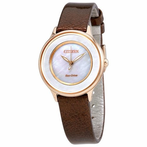 Citizen EM0383-08D Circle Of Time Ladies Eco-Drive Watch