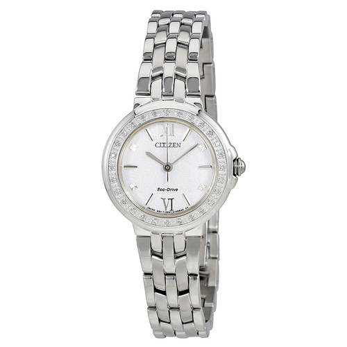 Citizen EM0440-57A Diamond Ladies Eco-Drive Watch