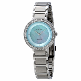Citizen EM0480-52N Silhouette Crystal Ladies Eco-Drive Watch