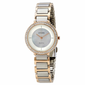 Citizen EM0483-89D Silhouette Crystal Ladies Quartz Watch