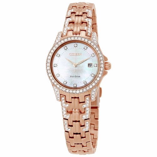 Citizen EW1228-53D Silhouette Crystal Ladies Eco-Drive Watch