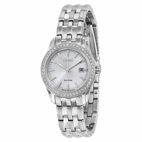 Citizen EW1901-58A Silhouette Crystal Ladies Eco-Drive Watch