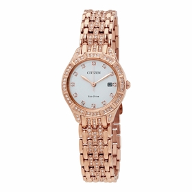 Citizen EW2323-57A Silhouette Crystal Ladies Eco-Drive Watch