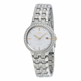 Citizen EW2340-58A Silhouette Crystal Ladies Eco-Drive Watch