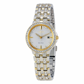 Citizen EW2344-57A Silhouette Crystal Ladies Eco-Drive Watch
