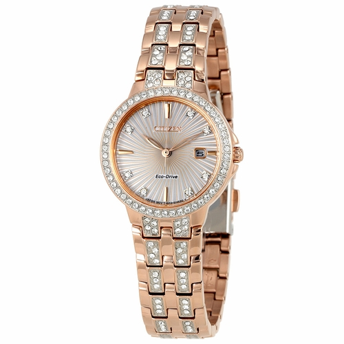 Citizen EW2348-56A Eco-Drive Silhouette Ladies Eco-Drive Watch