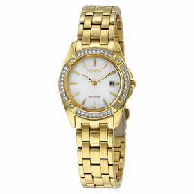 Citizen EW2352-59P Silhouette Crystal Ladies Eco-Drive Watch