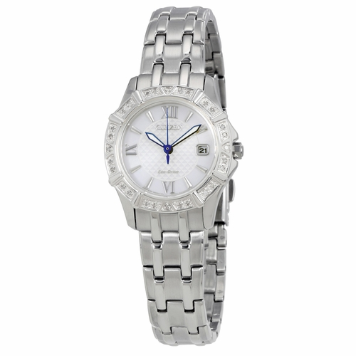 Citizen EW2360-51A Diamond Ladies Eco-Drive Watch