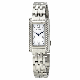 Citizen EX1470-51A Silhouette Crystal Ladies Eco-Drive Watch