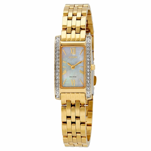 Citizen EX1472-56D Silhouette Crystal Ladies Eco-Drive Watch