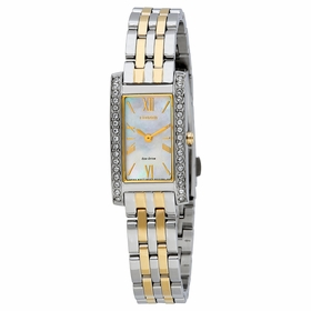 Citizen EX1474-51D Silhouette Crystal Ladies Eco-Drive Watch