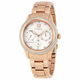 Citizen FD2013-50A Silhouette Crystal Ladies Eco-Drive Watch