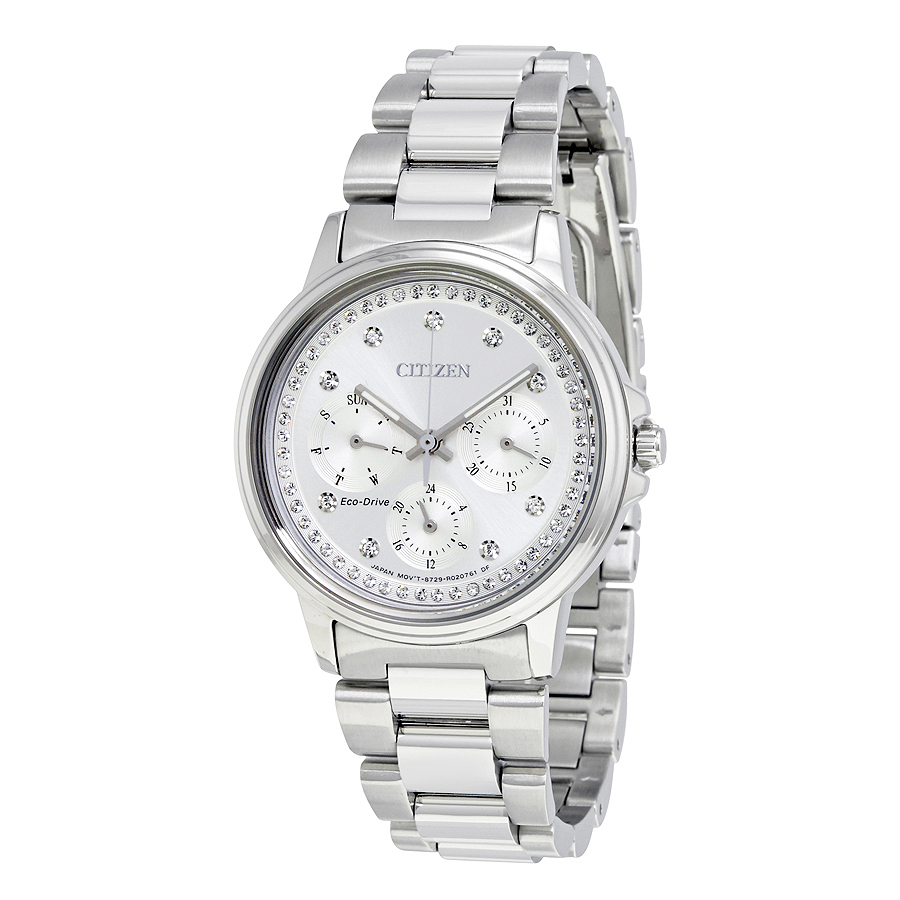 Citizen FD2040-57A Silhouette Crystal Ladies Eco-Drive Watch