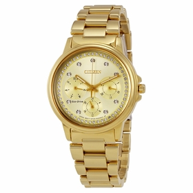 Citizen FD2042-51P Silhouette Crystal Ladies Eco-Drive Watch