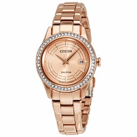 Citizen FE1123-51Q Silhouette Crystal Ladies Eco-Drive Watch
