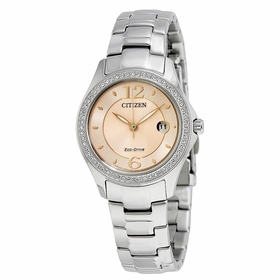 Citizen FE1140-86X Silhouette Crystal Ladies Eco-Drive Watch