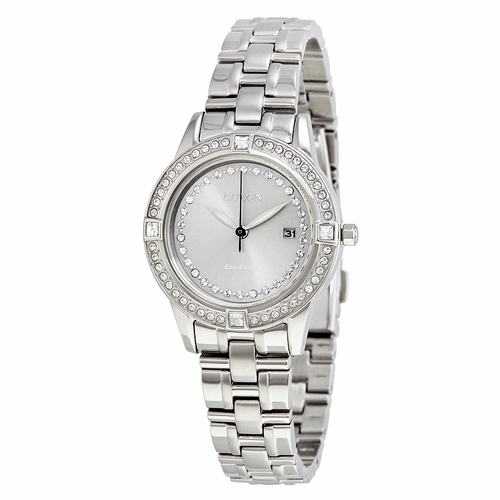 Citizen FE1150-58H Silhouette Crystal Ladies Eco-Drive Watch