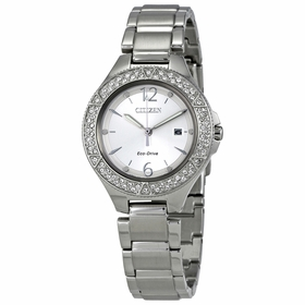 Citizen FE1160-54A Silhouette Crystal Ladies Eco-Drive Watch