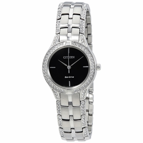 Citizen FE2060-53E Silhouette Crystal Ladies Eco-Drive Watch