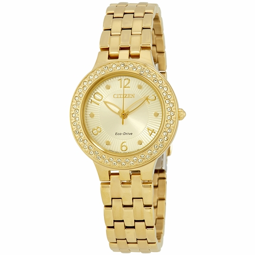 Citizen FE2082-51P Silhouette Crystal Ladies Quartz Watch