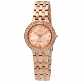Citizen FE2083-58Q Silhouette Crystal Ladies Quartz Watch
