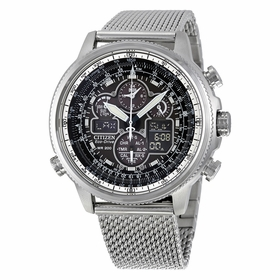Citizen JY8030-83E Navihawk Mens Chronograph Eco-Drive Watch