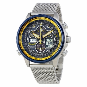 Citizen JY8031-56L Navihawk A-T Mens Chronograph Eco-Drive Watch