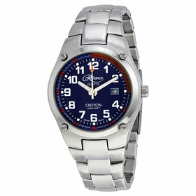 Croton 306052SLBL Reliance Mens Quartz Watch