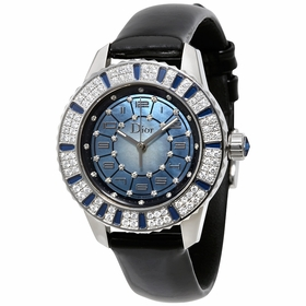 Dior 113510A002 Christal Ladies Automatic Watch