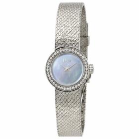 Dior CD040110M001 La Mini D de Dior Satine Ladies Quartz Watch