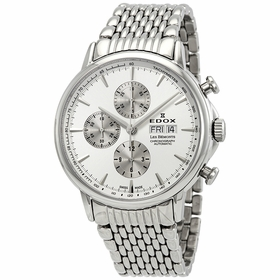 Edox 01120 3M AIN Les Bemonts Mens Chronograph Automatic Watch