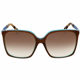 Fendi FF 0076/S DVU\JS Logo Ladies  Sunglasses