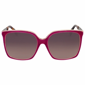 Fendi FF 0076/S DXV\XQ Logo Ladies  Sunglasses
